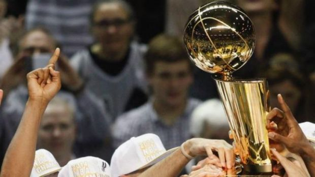 The NBA's Larry O'Brien trophy is coming to Melbourne