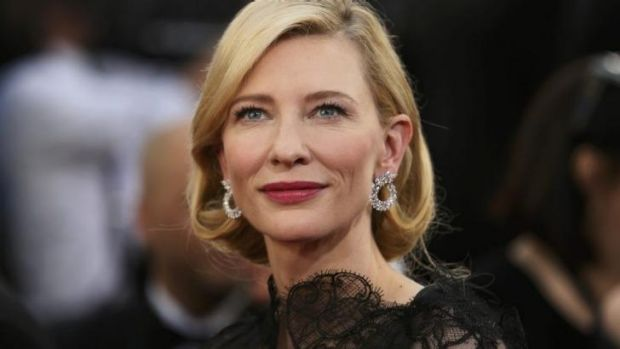 Cate Blanchett will play Mary Mapes, Rather's producer, who lost her job over the George W. Bush draft dodging claims.