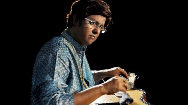 Debashish Bhattacharya: Played his first national concert as a four-year-old.