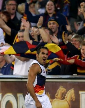 Fan favourite: Eddie Betts.