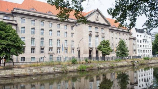 The German defence ministry in Berlin. German authorities are investigating a second spy case involving the US, a week ...