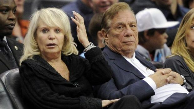 Shelly and Donald Sterling in 2010.