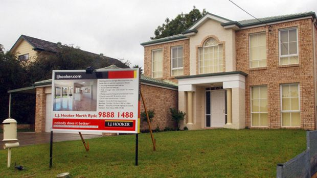 The house in North Ryde where Sef Gonzales murdered his parents and sister. <i>Photo: AAP/Sam Mooy</i>