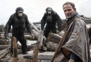 Jason Clarke in <i>Dawn of the Planet of the Apes</i>.
