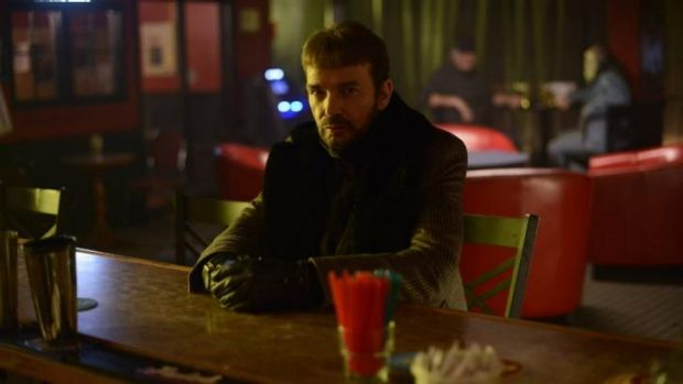 Billy Bob Thornton as Lorne Malvo in a scene from 'Fargo'. Thornton was nominated for an Emmy Award for best actor in a ...