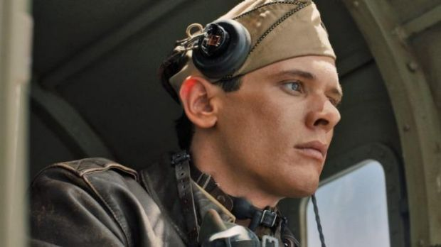 Jack O'Connell stars as the indomitable Louis Zamperini in <i>Unbroken</i>.