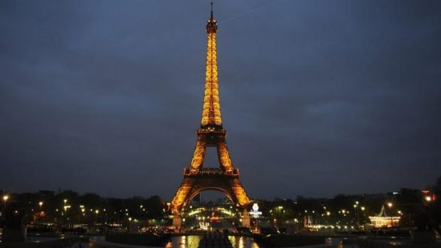 A terror plot involving the Eiffel Tower was foiled by French authorities, reports said.