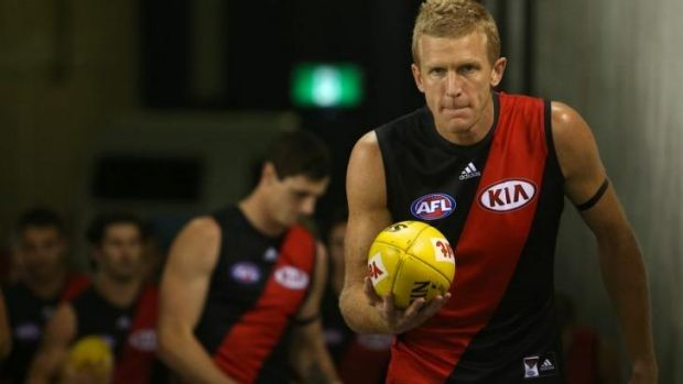 Essendon champion Dustin Fletcher may well play another AFL season in 2015.