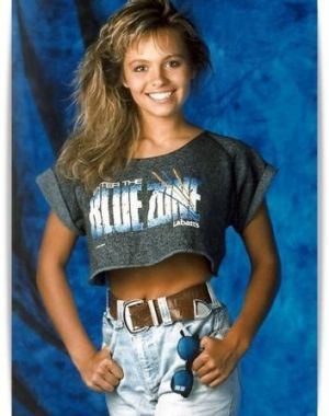 Pamela Anderson's first commercial for her football team's sponsor in the early '90s.