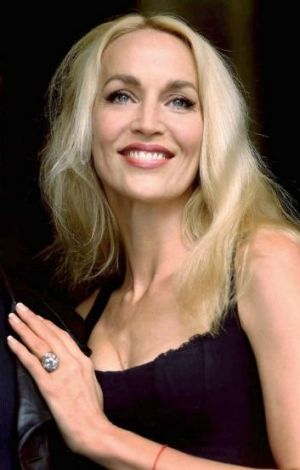 Jerry Hall in 2001.