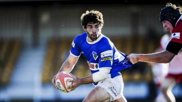 Positive: Royals' halfback and Argentinian Pedro Rolando believes it will be a winning weekend.