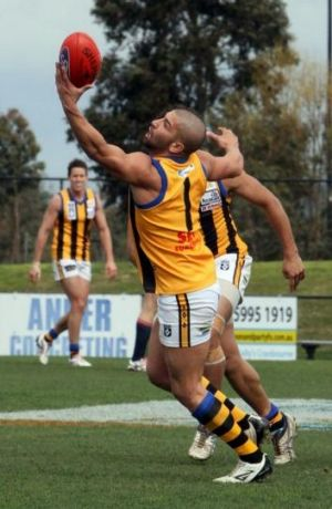 Port Melbourne midfielder Marcus Marigliani will fittingly play his 150th VFL match against Essendon.