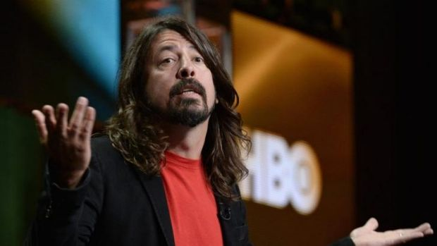 Not impressed with TV talent shows such as <i>American Idol</i> and <i>The Voice</i>: Dave Grohl.