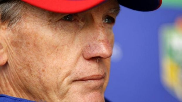 Knight shift: Wayne Bennett will leave Newcastle at the end of the season.