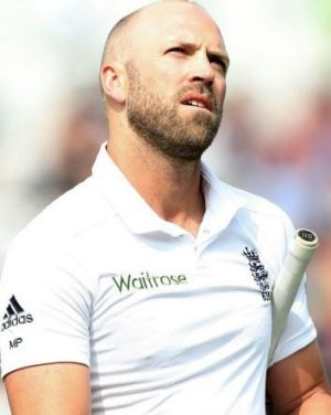 Matt Prior was on the receiving end of an umpire howler.