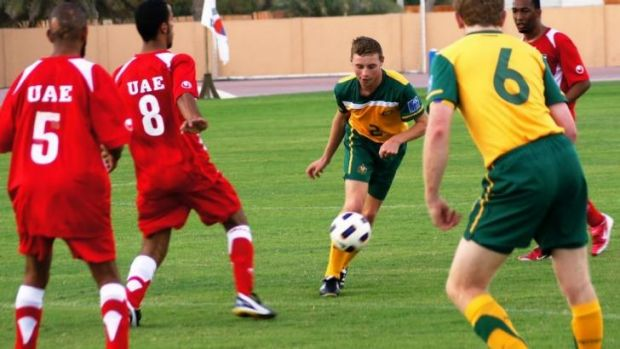 The Pararoos in action, 2012.