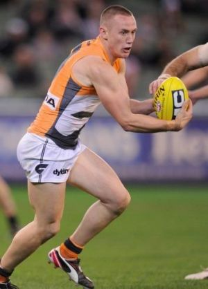 Anything's possible: GWS midfielder Tom Scully isn't daunted by Fremantle's imposing home record.