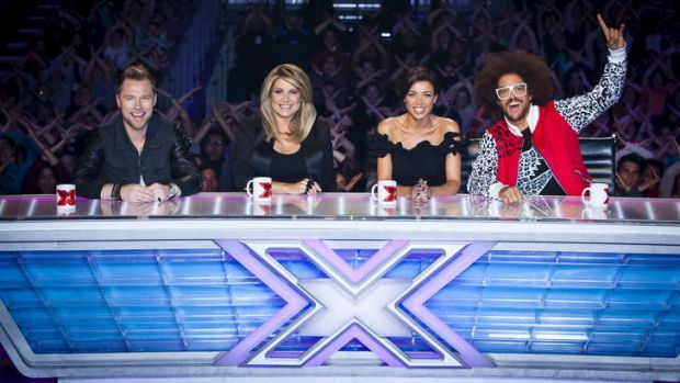 <i>The X Factor</i> on Channel Seven brings back the same judging panel: Ronan Keating, Natalie Bassingthwaighte, Dannii ...