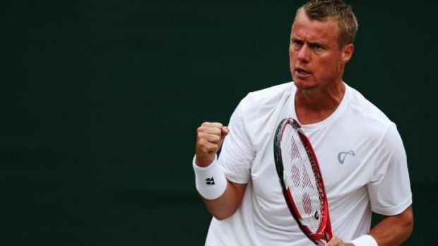 Lleyton Hewitt will chase another grass-court title.