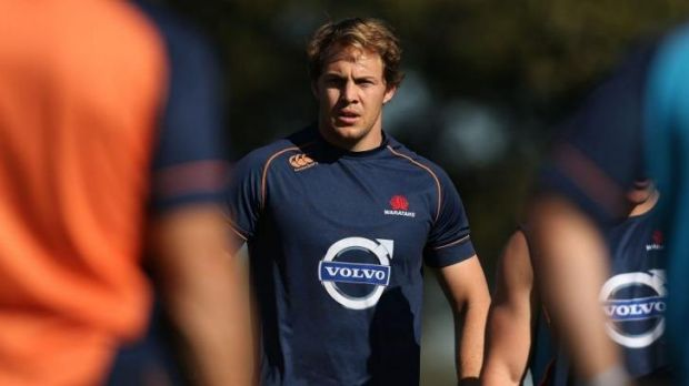 Line in the sand: Lineout general Stephen Hoiles says the Tahs must work on their set-piece.