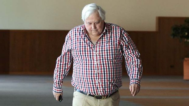 """There is no evidence that Clive Palmer's companies have been penalised""."