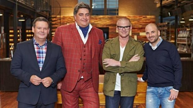 <i>MasterChef</i> the judges welcome Heston Blumenthal to the ranks.