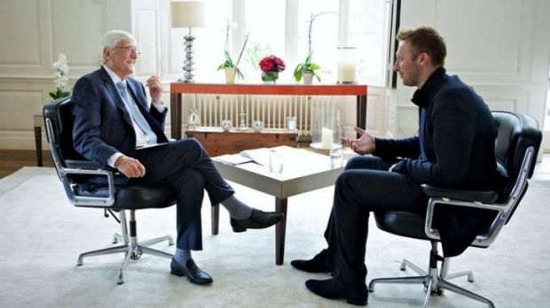 Leaked ... Media had already reported that Ian Thorpe came out on Michael Parkinson interview.