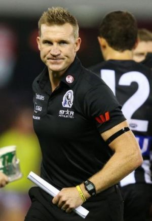 Nathan Buckley's virtuosity as a media performer, willingness to face the cameras, make hard calls and even to accept ...
