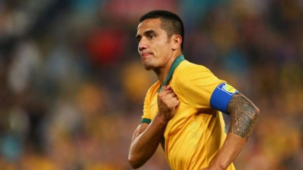 Tim Cahill was one of the key players for the Socceroos in Brazil.