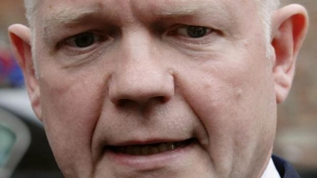 British Foreign Secretary William Hague has stepped down from his role in a major shake-up of David Cameron's cabinet.