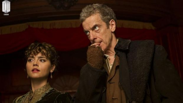 <i>Deep Breath</i> ... Peter Capaldi in the first episode of the eighth season of <i>Doctor Who</i>.