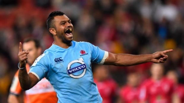 In demand: Kurtley Beale has been linked with a move to rugby league, but Waratahs attack coach Daryl Gibson believes he ...