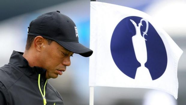 Tiger Woods returns to the major scene at the British Open.