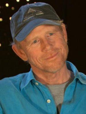 Director Ron Howard.
