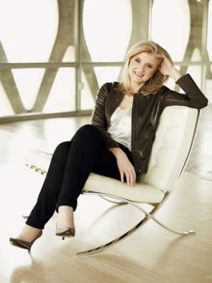 Chill seeker: Arianna Huffington.