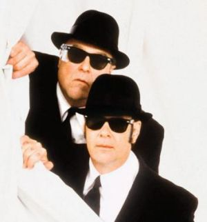The Blues Brothers, mark II: John Goodman and Dan Aykroyd in the belated sequel, which did little to damage the appeal ...
