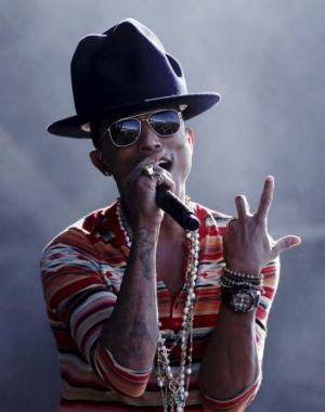 Best-selling single of 2014: <i>Happy</i> by Pharrell Williams.