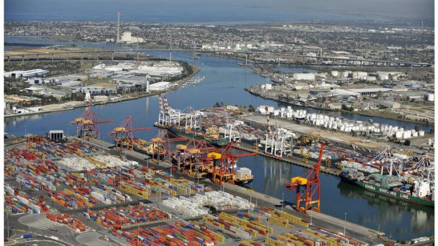 An expected $750 million from the sale of the Port of Melbourne could be affected.