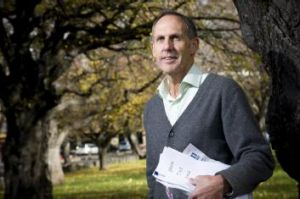 Former leader of the Green Party, Bob Brown, in 2009.
