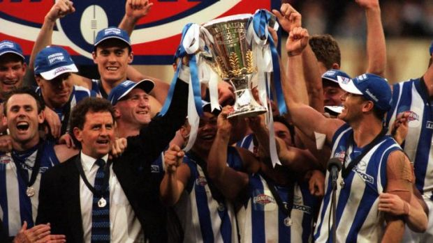 1999: North Melbourne won the 1999 premiership over Carlton.