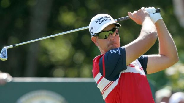 Red mist: world No.2 Henrik Stenson has a history of breaking clubs.