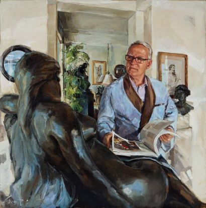 "Evert Ploeg's ""John Schaeffer AO - art collector and philanthropist"""