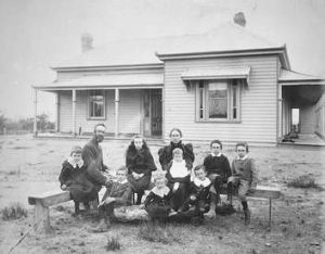 The Amery's at their family home.