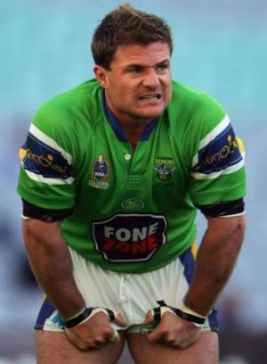 Former Raiders star, and now Queanbeyan Blues coach, Simon Woolford