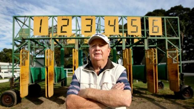 End of an era: Starter Billy Dale will hit the button for the last time at Rosehill on Saturday.