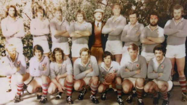 The 1974 Wests first grade side.