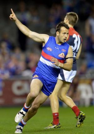 The Bulldogs anticipate Tory Dickson will play at least half of the match on return.