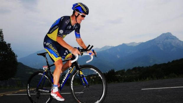 Michael Rogers is now leading his team after Alberto Contador crashed out of the Tour De France.