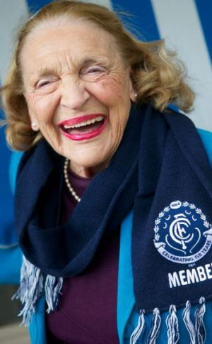 85-year-old Betty Harding is Carlton's second oldest member.