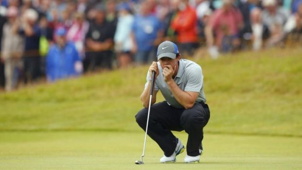 McIlroy had two eagles in the final three holes.